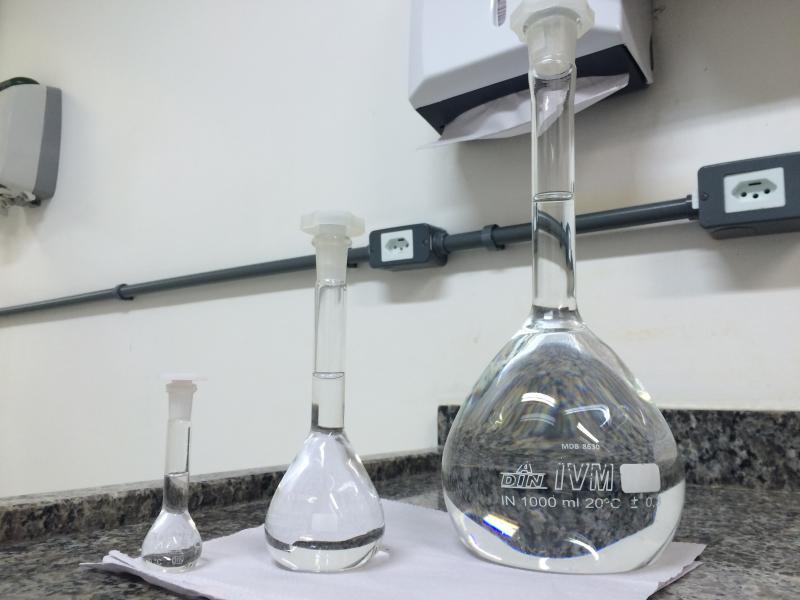 Análise físico química de água potável