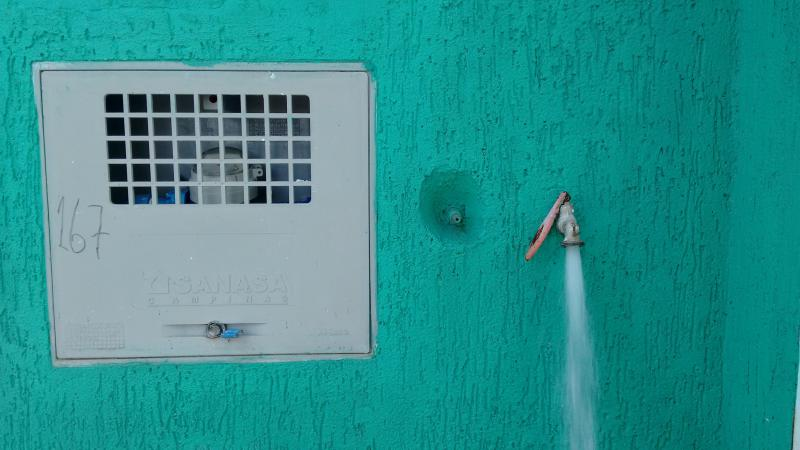 Análise de potabilidade da água